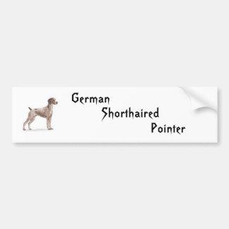 German Shorthaired Pointer Bumper Sticker