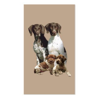 German Shorthaired Pointer Business Card