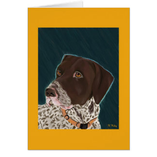 German Shorthaired Pointer card 2