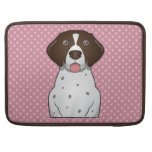German Shorthaired Pointer Cartoon Sleeve For MacBook Pro