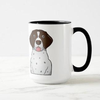 German Shorthaired Pointer Cartoon Mug