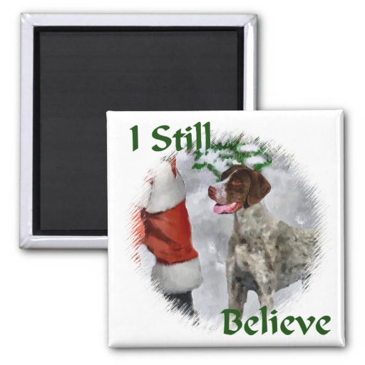 German Shorthaired Pointer Christmas Gifts Refrigerator Magnets