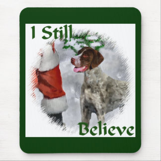 German Shorthaired Pointer Christmas Gifts Mouse Pad