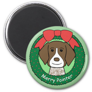 German Shorthaired Pointer Christmas Magnets
