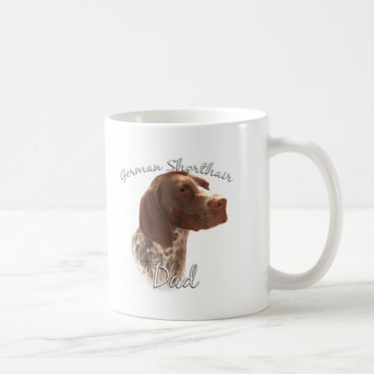 German Shorthaired Pointer Dad 2 Coffee Mug