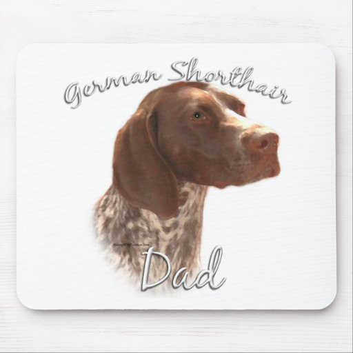 German Shorthaired Pointer Dad 2 Mouse Pad