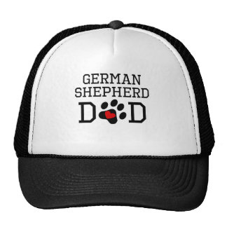 German Shorthaired Pointer Dad Mesh Hats
