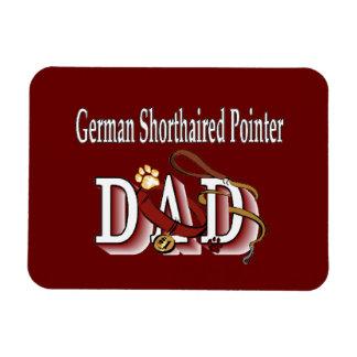 German Shorthaired Pointer Dad Magnet