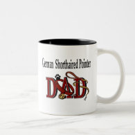 German Shorthaired Pointer Dad Mug