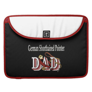 German Shorthaired Pointer Dad Sleeve For MacBooks