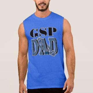 German Shorthaired Pointer DAD Sleeveless Shirt