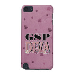 German Shorthaired Pointer DIVA iPod Touch 5G Case