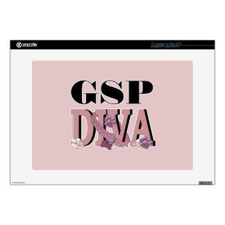 German Shorthaired Pointer DIVA Laptop Skins