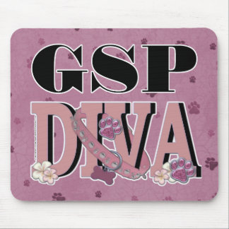 German Shorthaired Pointer DIVA Mouse Pad