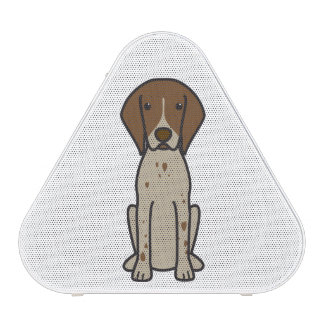 German Shorthaired Pointer Dog Cartoon Bluetooth Speaker
