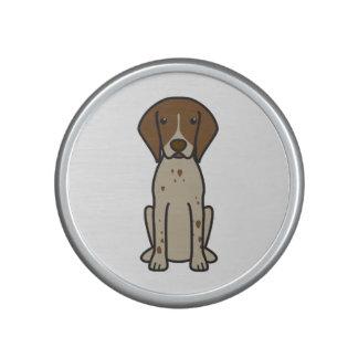 German Shorthaired Pointer Dog Cartoon Bluetooth Speaker