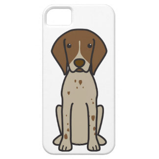 German Shorthaired Pointer Dog Cartoon iPhone 5 Cover