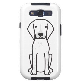 German Shorthaired Pointer Dog Cartoon Galaxy S3 Covers
