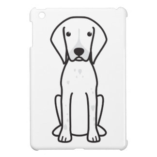 German Shorthaired Pointer Dog Cartoon Cover For The iPad Mini