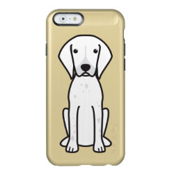 German Shorthaired Pointer Dog Cartoon Incipio Feather Shine iPhone 6 Case