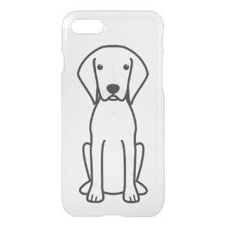 German Shorthaired Pointer Dog Cartoon iPhone 7 Case