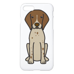 iPhone 7 Case with German Shorthaired Phone Cases design