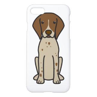 German Shorthaired Pointer Dog Cartoon iPhone 8/7 Case