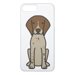 German Shorthaired Pointer Dog Cartoon iPhone 8 Plus/7 Plus Case