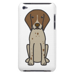 Case-Mate iPod Touch Barely There Case with German Shorthaired Phone Cases design