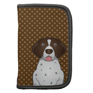 German Shorthaired Pointer Dog Cartoon Paws Planners