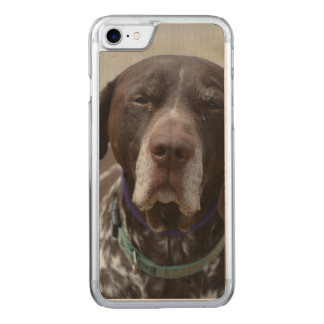 German Shorthaired Pointer Dog Carved iPhone 8/7 Case