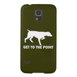 Case-Mate Barely There Samsung Galaxy S5 Case with German Shorthaired Phone Cases design