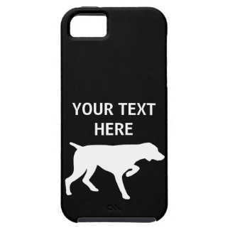 German Shorthaired Pointer dog - Customizable iPhone SE/5/5s Case