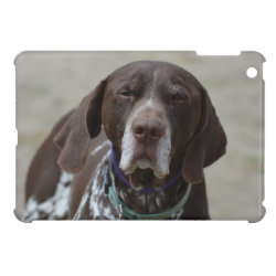 German Shorthaired Pointer Dog iPad Mini Covers