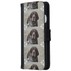 iPhone 6 Wallet Case with Pointer Phone Cases design