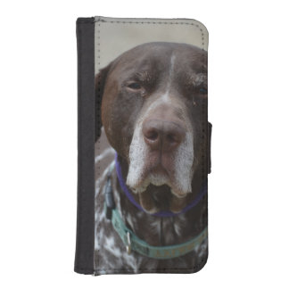 German Shorthaired Pointer Dog iPhone SE/5/5s Wallet Case