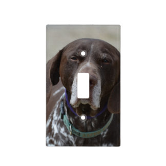 German Shorthaired Pointer Dog Light Switch Cover