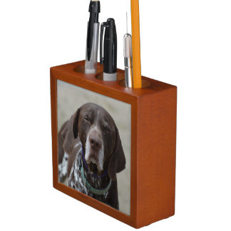 German Shorthaired Pointer Dog Pencil/Pen Holder
