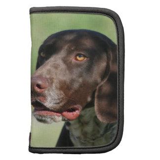 German Shorthaired pointer dog Folio Planner