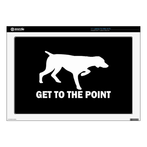 German Shorthaired Pointer dog Laptop Decals