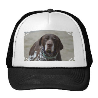 German Shorthaired Pointer Dog Trucker Hat