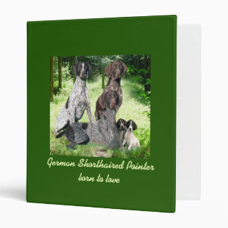 German Shorthaired Pointer Family Binder