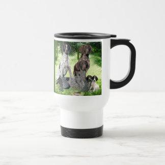 German Shorthaired Pointer Family Travel Mug