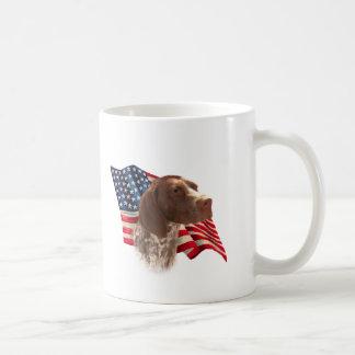 German Shorthaired Pointer Flag Coffee Mug