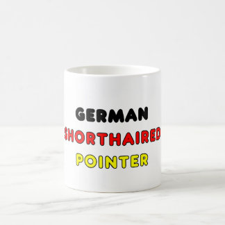 german shorthaired pointer flag in name coffee mug