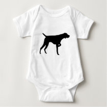 German Shorthaired Pointer Gear Baby Bodysuit