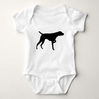 German Shorthaired Pointer Gear Baby Bodysuit
