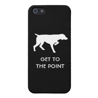 "German Shorthaired Pointer ""Get to the Point"" iPhone 5/5S Covers"