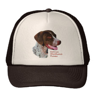 German Shorthaired Pointer Gifts Mesh Hats