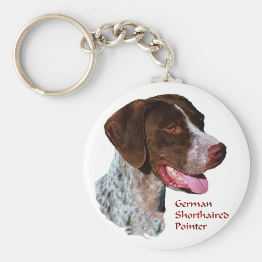 German Shorthaired Pointer Gifts Keychain